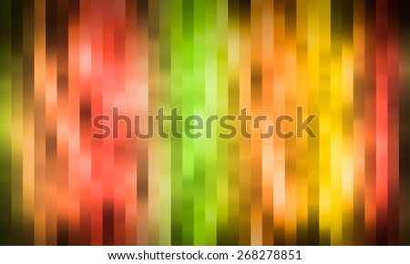 abstract color striped on blured background in grunge style