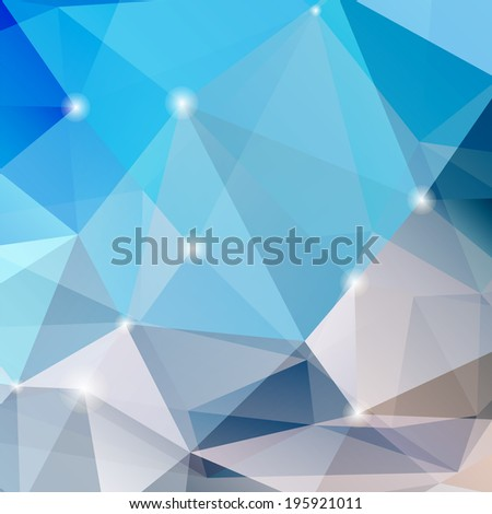 Abstract colored glass background - stock photo