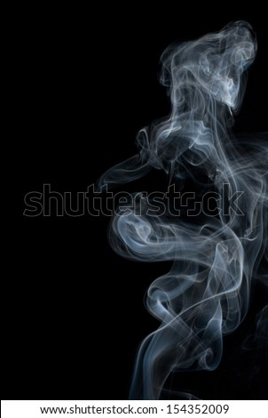 abstract colored smoke, photography