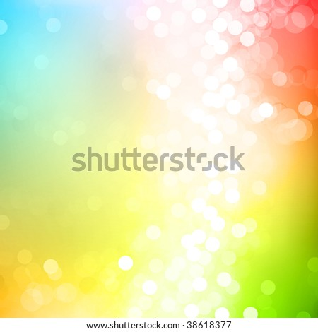 Abstract colorful background design of light dots