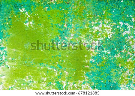 abstract colorful background of corrosive metal