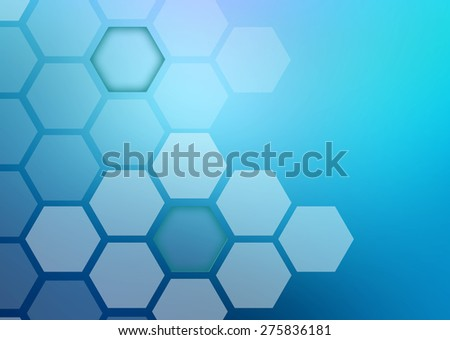 Abstract Hexagonal Shapes Background Stock Vector 158402942 ...