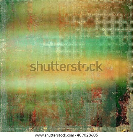 Abstract colorful background or backdrop with grunge texture and different color patterns: yellow (beige); brown; green; red (orange); cyan - stock photo