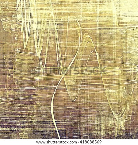 Abstract colorful background or backdrop with grunge texture and different color patterns: yellow (beige); brown; gray - stock photo
