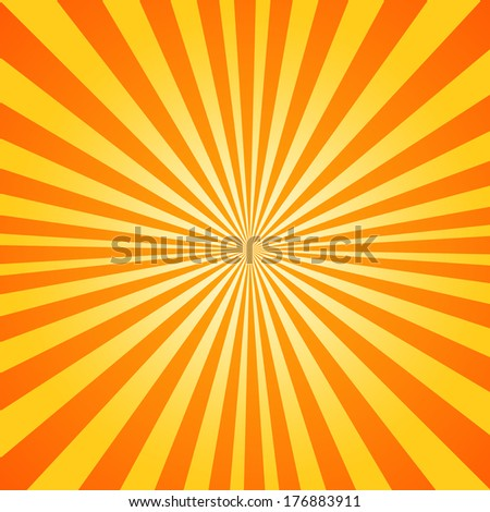 Abstract colorful background, radial star . - stock photo