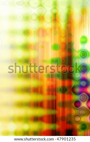 Abstract colorful background that looks like liquid surface.
