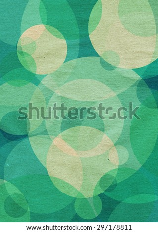 abstract colorful background with circles - stock photo