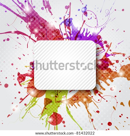 Abstract colorful background with copy space
