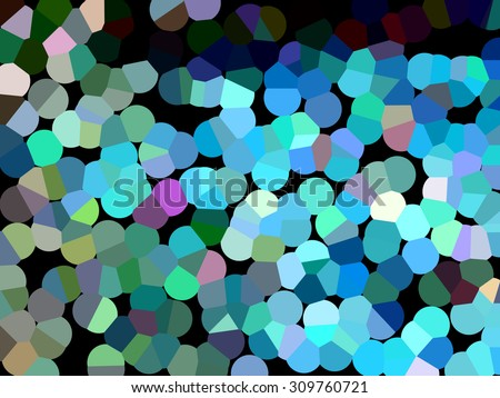 abstract colorful background with dotted pointillized style                      - stock photo
