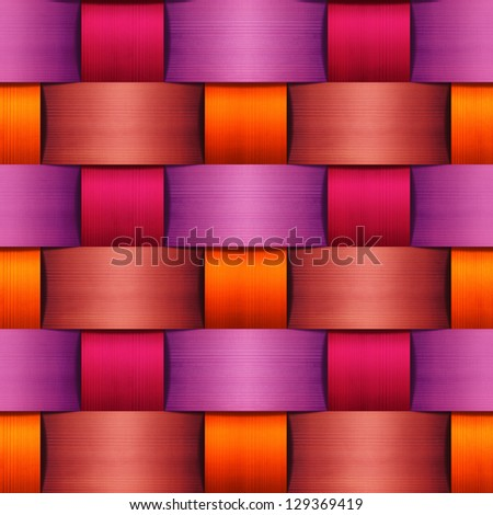 abstract colorful basket texture - stock photo