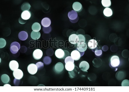 Abstract, colorful Bokeh.