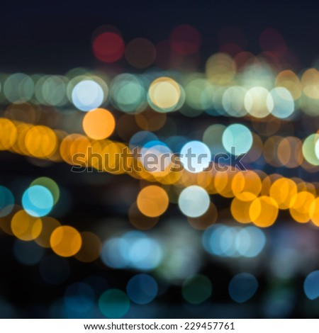 Abstract  Colorful bokeh background  - stock photo