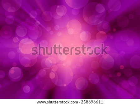 Abstract Colorful Circle Light Background - stock photo