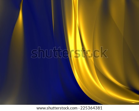 Abstract colorful flaming background - stock photo