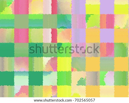 Abstract Colorful Grid Pattern Style Wallpaper Background With Soft Pastel Tones