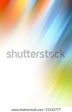 Abstract colorful light streaks background - stock photo
