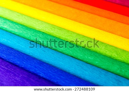 Abstract colorful line background - stock photo
