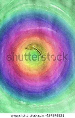 Abstract colorful painting as a background - stock photo