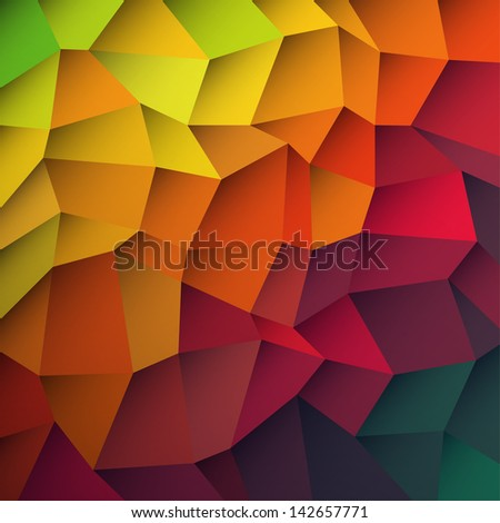 Abstract colorful patches background. Raster version, vector file available in portfolio. - stock photo