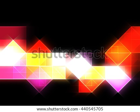 Abstract colorful pixel background