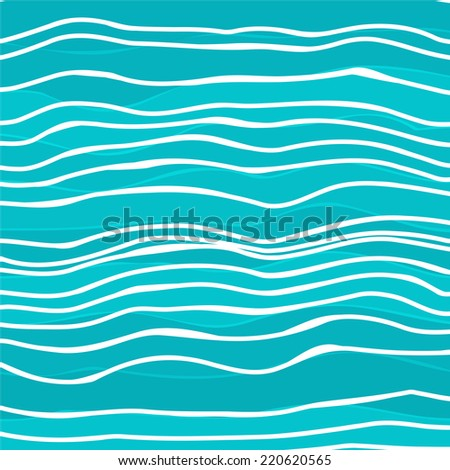 Abstract colorful striped wave background