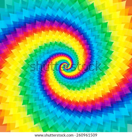Abstract colorful swirl background - stock photo