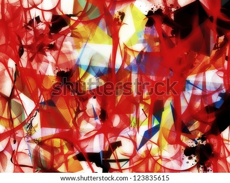 Abstract colorful texture