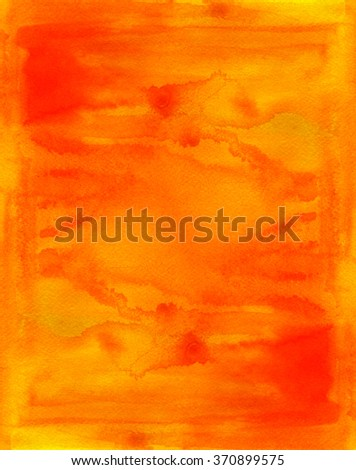 Abstract colorful texture. Watercolor hand painted background. - stock photo