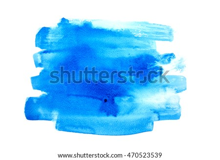 Abstract colorful water color art background