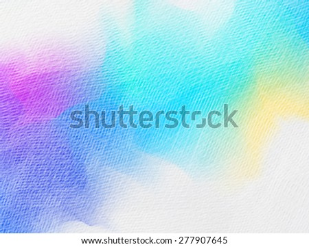 Abstract colorful water color for background. Grunge paper texture. Vintage background. - stock photo