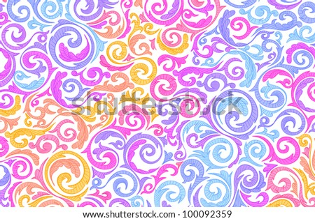Abstract colourful background.