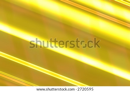 abstract composition, metal gold - stock photo
