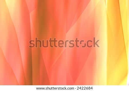 abstract composition, mixed paints - stock photo