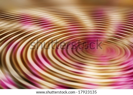 abstract concentric background - stock photo