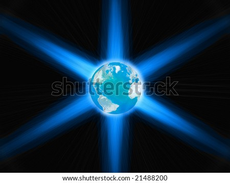 abstract concept - stock photo