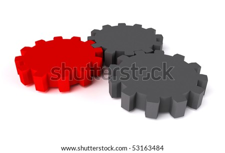 Abstract concept power or motion illustration - stock photo