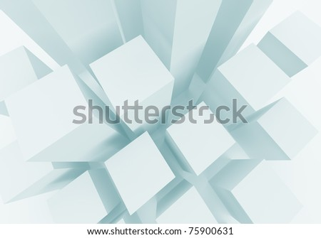 Abstract Construction Background - stock photo