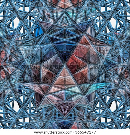Abstract Construction Structure 406 - stock photo