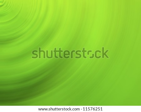 Abstract contrast composition in  greenish-yellow tonality