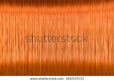 abstract copper line for transformer  background - stock photo