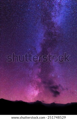 Abstract cosmic background. - stock photo
