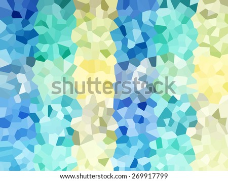 Abstract crystal pixel colorful pattern background - stock photo