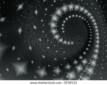 abstract curve - stock photo