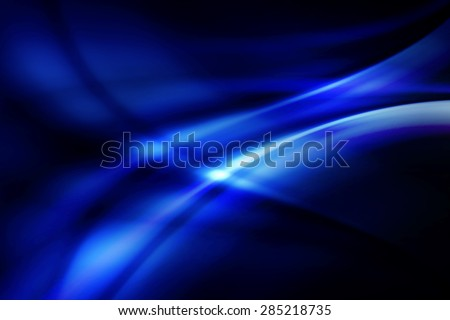 abstract curve technology background - stock photo