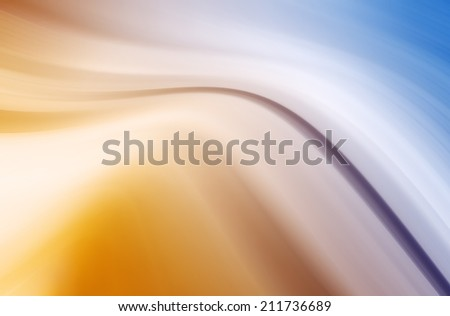 Abstract Curved Background - stock photo