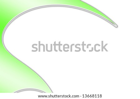 Abstract curved line background with copyspace