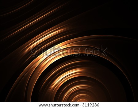 abstract curves - stock photo