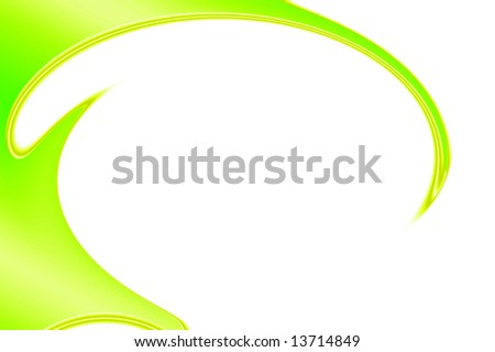 Abstract curves background with copyspace