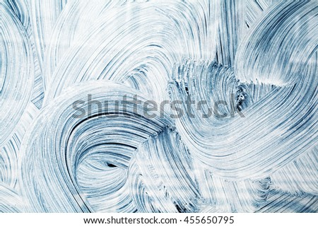 Abstract Curves grunge brush strokes background - stock photo
