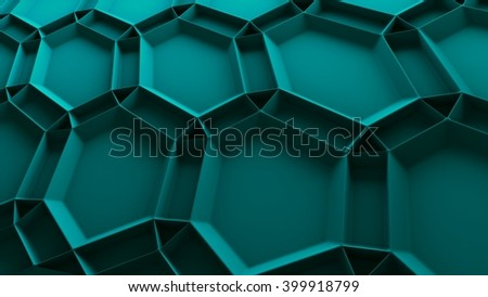 abstract 3d background with repeating pattern